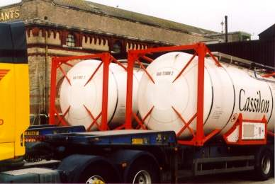 Cassilon reefer tank